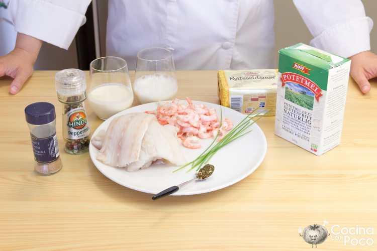 fiskekaker pastel pescado receta paso a paso