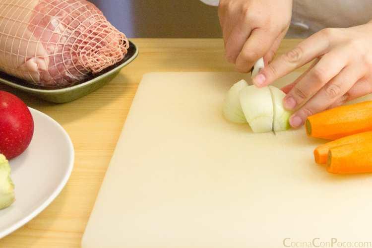 jamón asado al horno receta paso a paso
