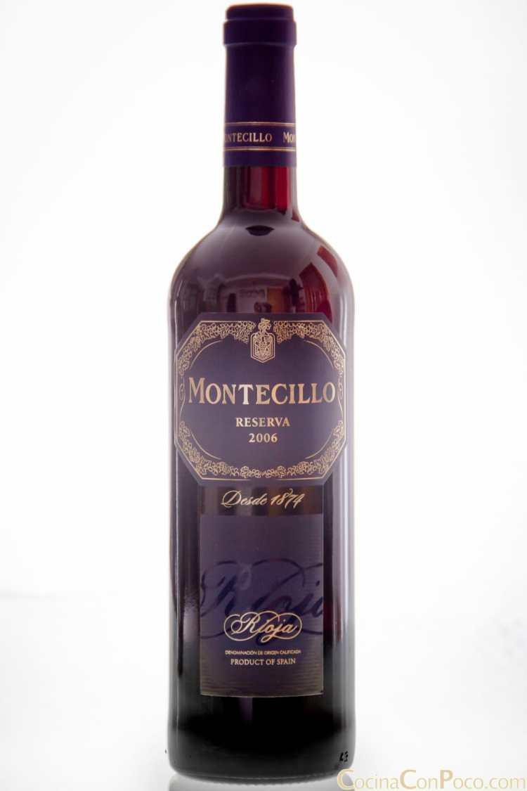 Montecillo – Rioja reserva 2006 – Osborne