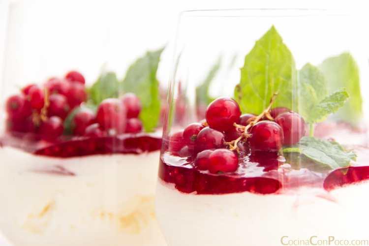 mousse de yogur natural griego receta