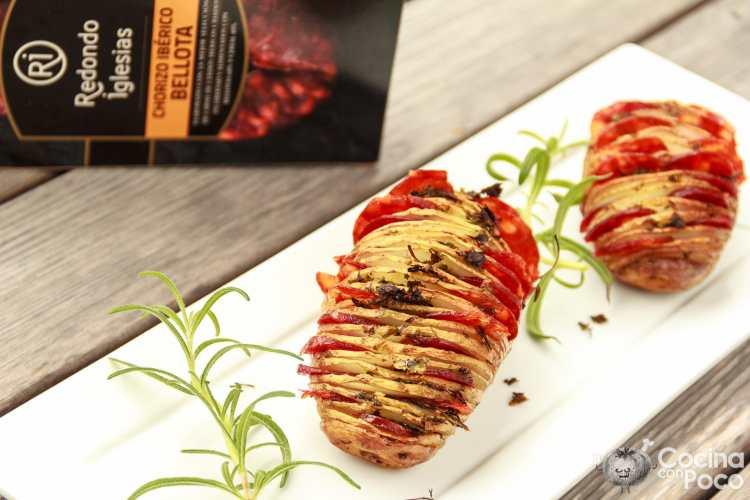 patatas hasselback receta original