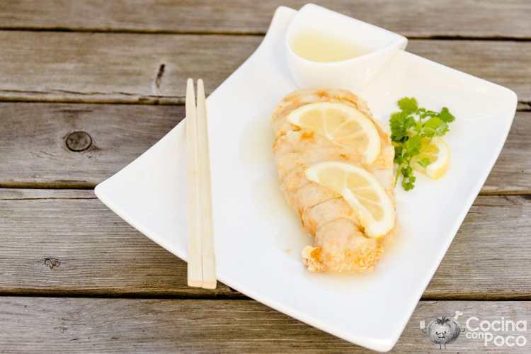 Pollo al limon estilo chino – Sin gluten – Paso a paso