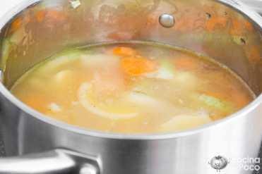 puré crema zanahoria receta paso a paso