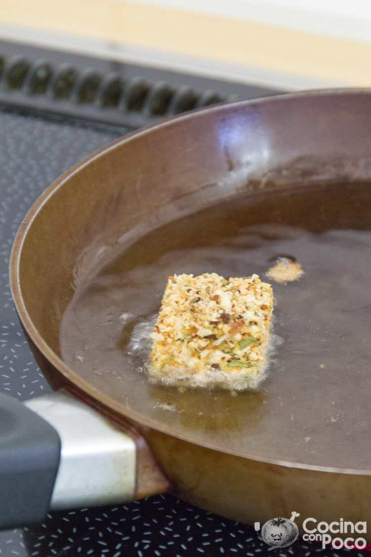 queso frito receta fácil paso a paso
