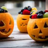 Naranjas terroríficas para niños