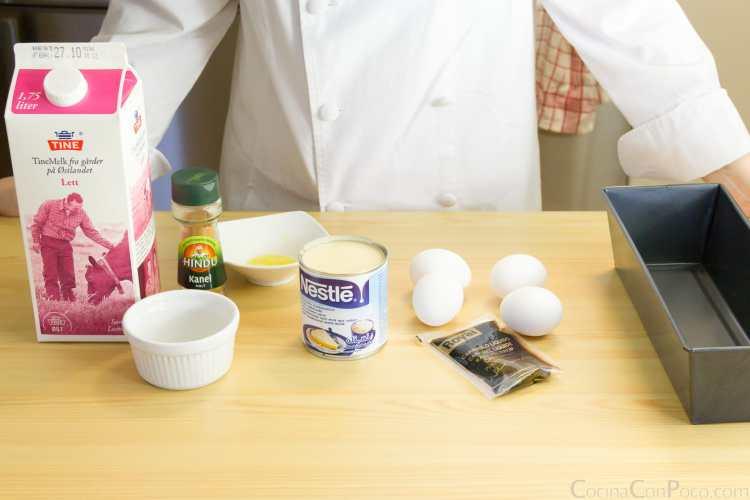 receta quesillo canario al horno paso a paso