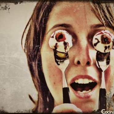 recetas para halloween ojos sangrientos