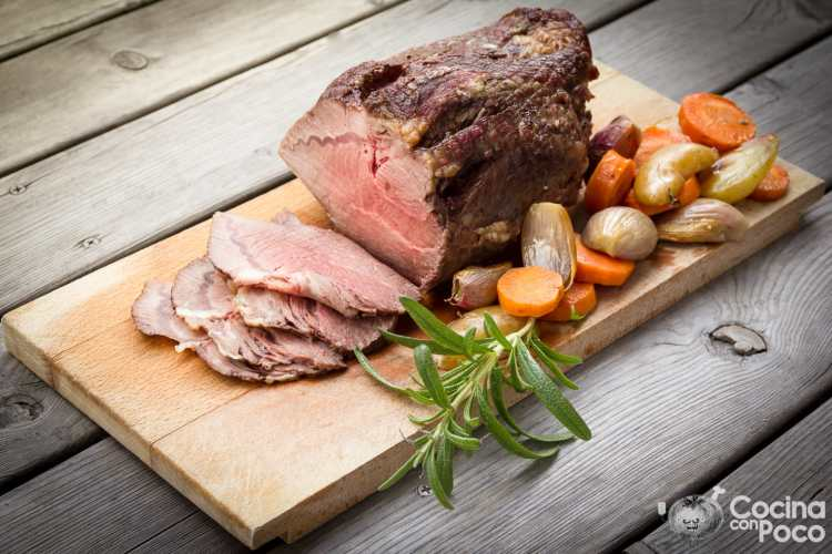 Rosbif o Roast Beef original, tradicional y auténtico