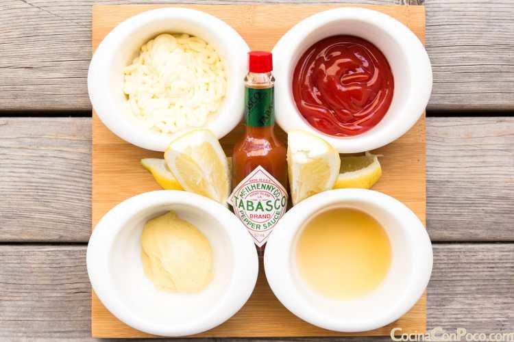 Salsa rosa casera receta fácil