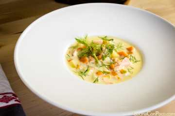 sopa noruega pescado fiskesuppe