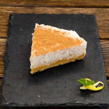 tarta arroz con leche cuajada receta