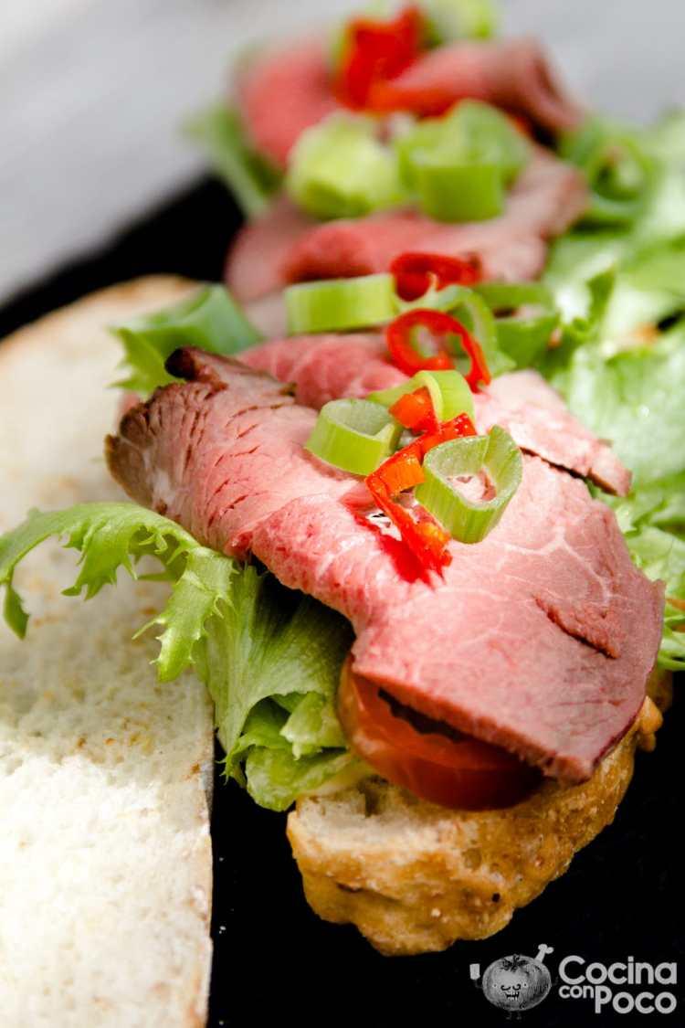 tosta roast beef