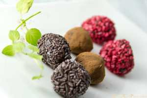 trufas de chocolate receta facil