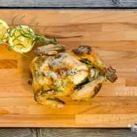 Pollo asado paso a paso