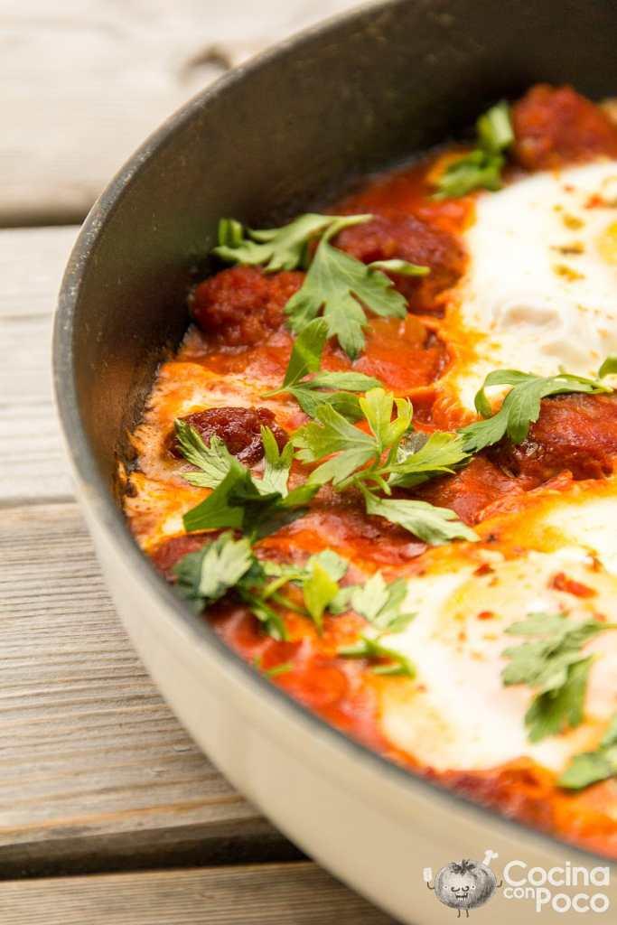 huevos al plato receta en sartén
