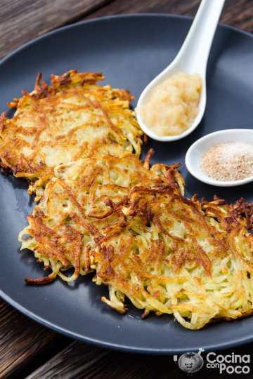 tortitas de patata kartoffelpuffer