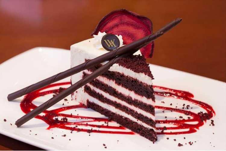 delicioso pastel red velvet