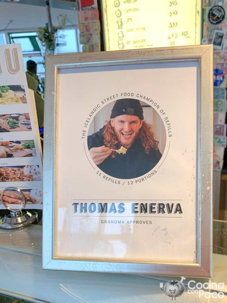 Viaje a Islandia durante el Coronavirus - sopa cordero