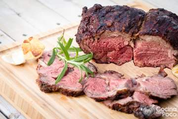 roast beef en barbacoa paso a paso