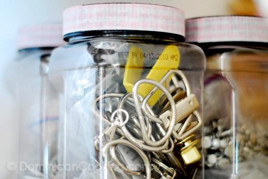Organizar y Reusar