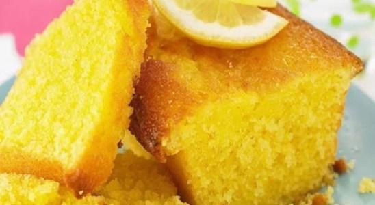 bizcochuelo de limon casero