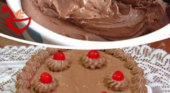 Cómo hacer crema de mantequilla de chocolate