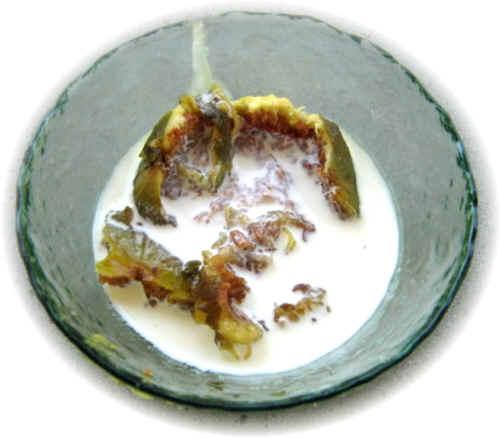 higos con nata fria un postre antiguo y siempre agradable