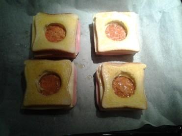 sandwich al horno con queso - 10