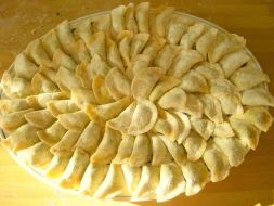 Ravioli de Espinacas y queso Ricotta