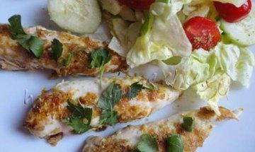 Solomillos de pollo crujientes al aroma de naranja: tu plato está listo!