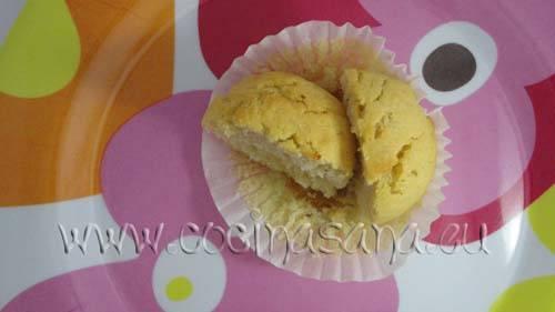 Desayuna con unos muffin a prueba de pasteleria!