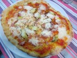 pizza capricciosa: optima!