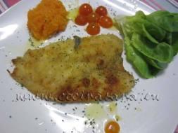 Cómo hacer pescado rebozado sin freir. Truco fácil