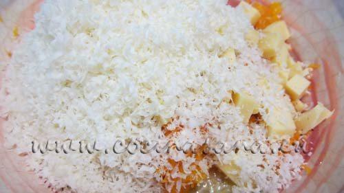 añade el queso rallado hasta que tenga una consistencia muy espesa y pueda funcionar perfectamente para nuestra receta.
