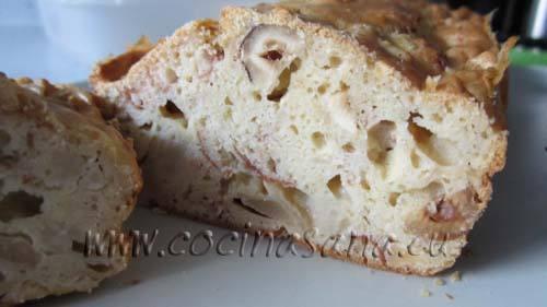 Lla misma base de se puede utilizar para la preparación de cualquier tipo de plum-cake salado!