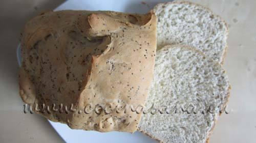 La receta de este pan es prácticamente perfecta!, se preparar con semillas de amapola lo que le da una excelente y muy buena textura.