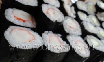 maki-sushi de surimi