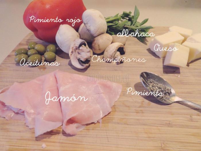 Estos son los ingredientes que necesitas para el relleno