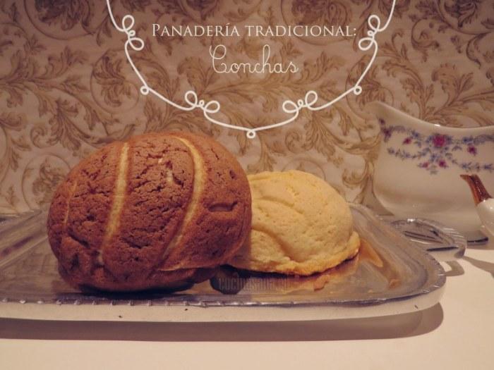 Conchas Tradicionales de la panadería Mexicana
