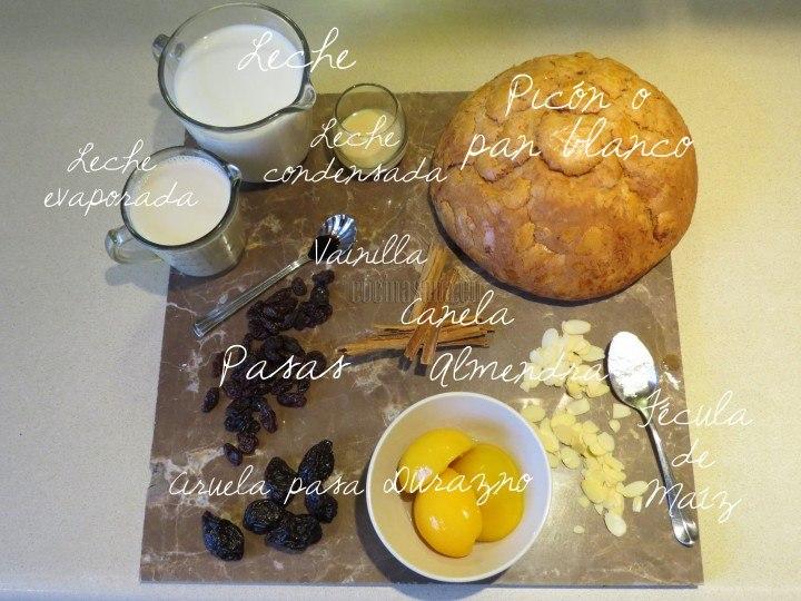 Estos ingredientes necesitas para la receta
