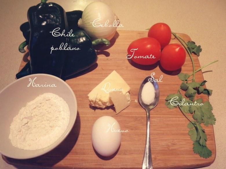 Los ingredientes básicos para elaborar la receta