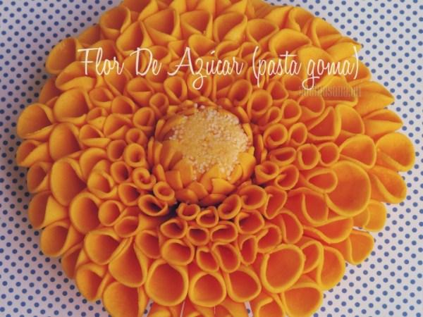 Como hacer Flores de Azúcar con Pasta Goma