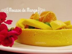 Mousse de Mango Ligero ( Incluye vídeo con la receta)