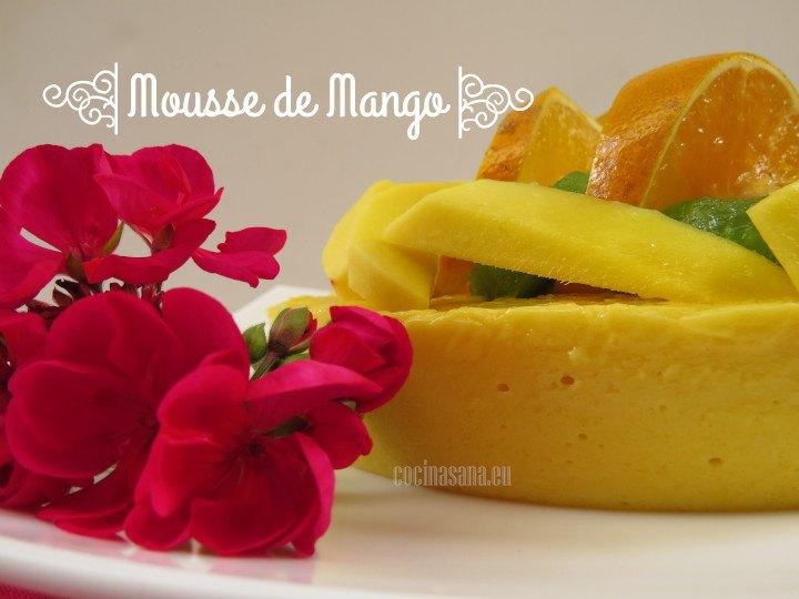 Mousse de Mango ligero
