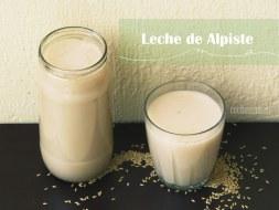 Cómo preparar Leche de Alpiste. Una leche vegetal ideal para perder peso