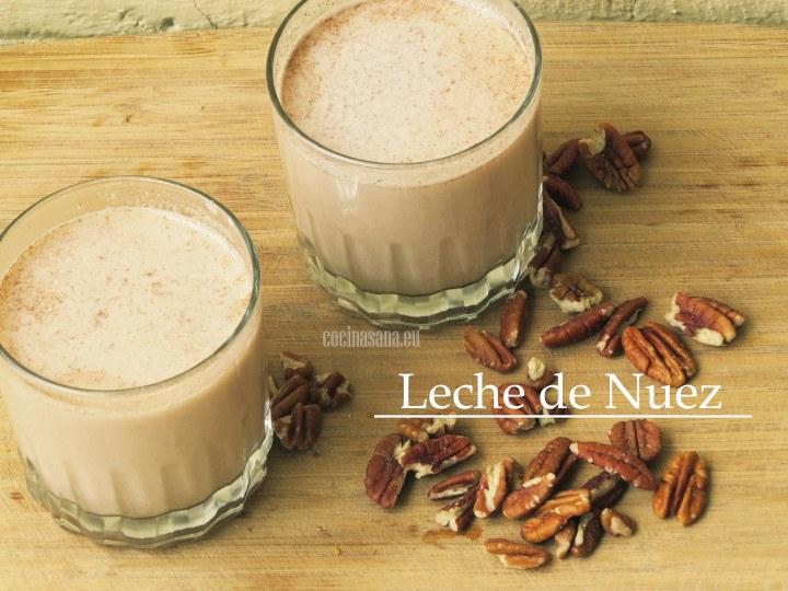 leche de nuez