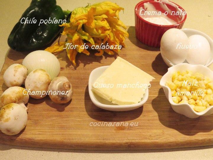 Ingredientes para Relleno
