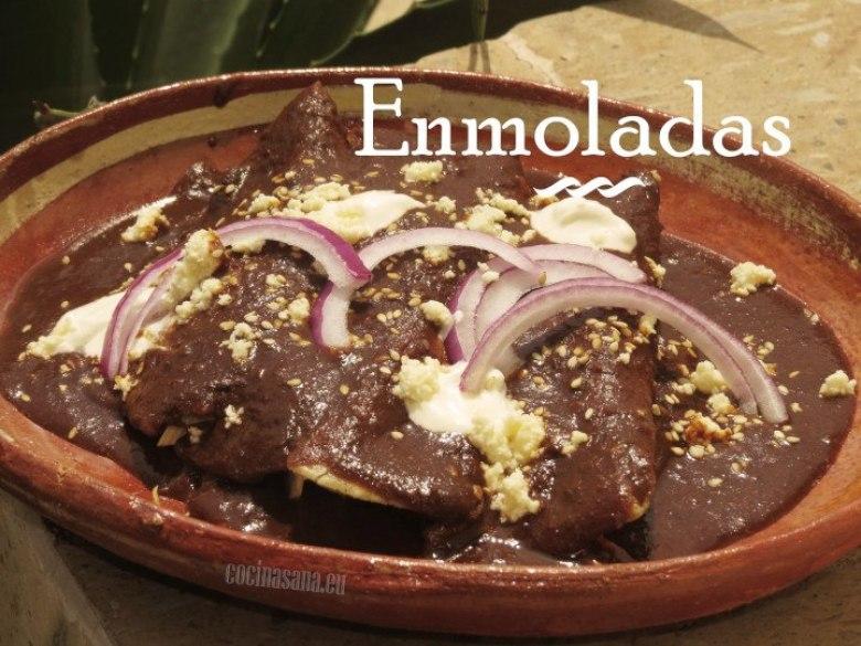 Cómo preparar enmoladas mexicanas