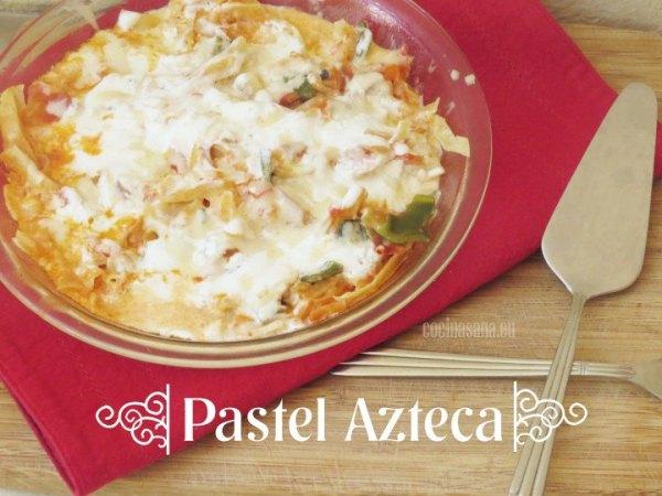 Pastel Azteca de México