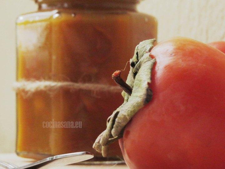 Conserva preparada de Pérsimo con ralladura de naranja